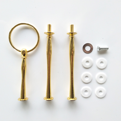 Round – Gold plated